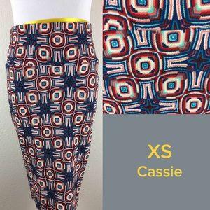NWT LuLaRoe Cassie XS